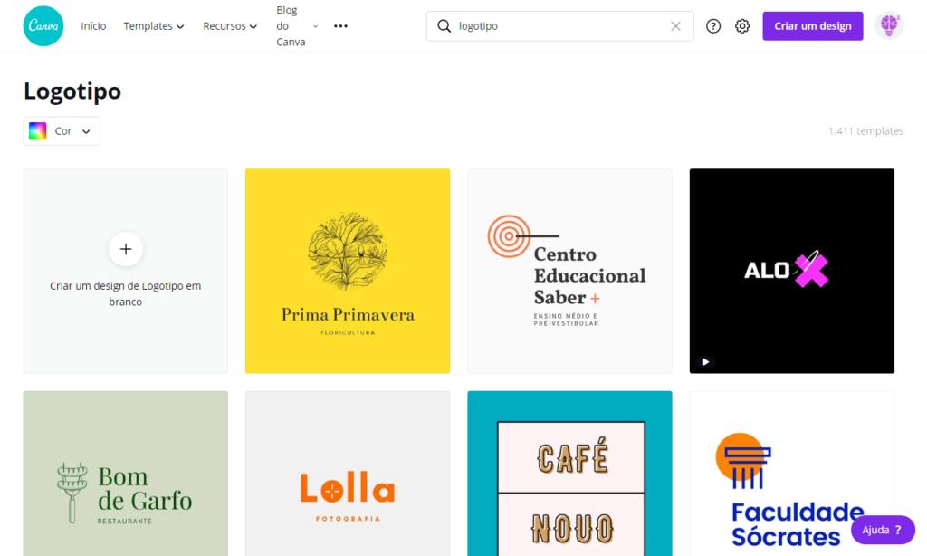 Modelos, templates e inspiração - Criar logotipo grátis