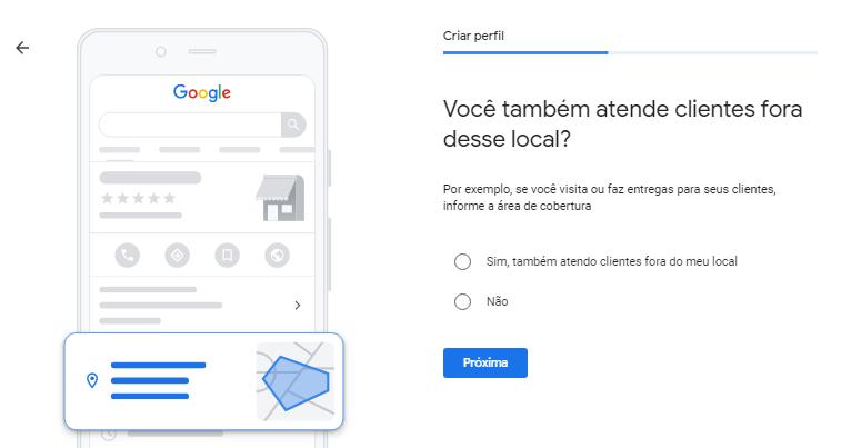 Google Meu Negócio Localização Outros Locais