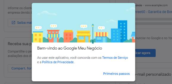 Google Meu Negócio Localização Pronto
